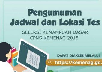 Pengumuman Jadwal dan Lokasi CAT IAIN Sultan Amai Gorontalo Tahun 2018